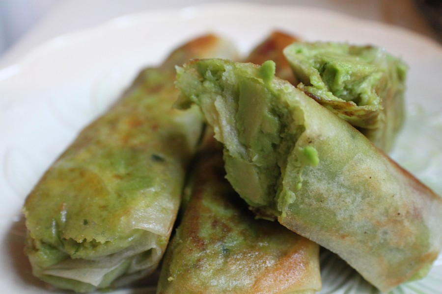 Clearly Delicious » Avocado Egg Rolls